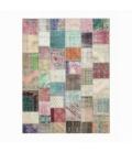Vintage patchwork flicken teppich farbe various (405x306cm)