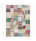Vintage tapis de patchwork couleur various (406x304cm)