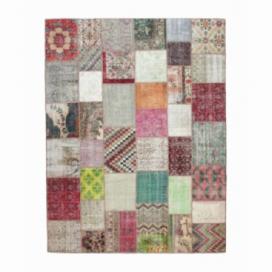 Vintage patchwork rug kleur various (406x305cm)