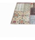 Vintage patchwork flicken teppich farbe various (406x305cm)