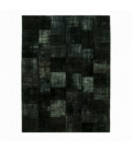 Vintage patchwork rug kleur black (407x302cm)