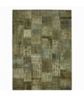 Vintage patchwork rug kleur natural (408x305cm)
