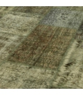 Vintage patchwork rug color natural (408x305cm)