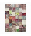Vintage patchwork rug color various (409x303cm)