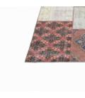 Vintage patchwork flicken teppich farbe various (409x303cm)