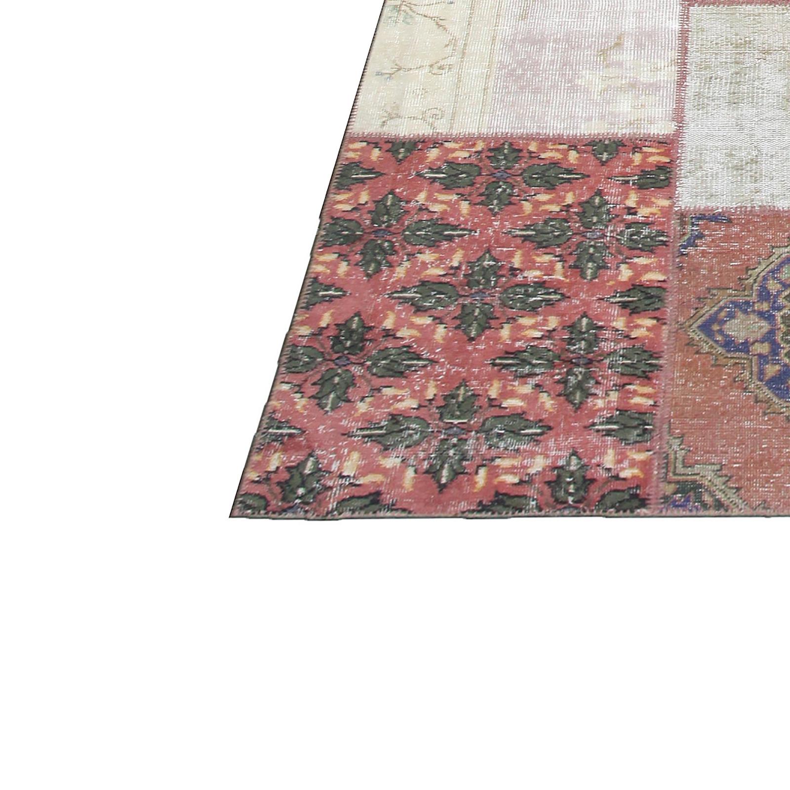 various vintage patchwork flicken teppich 409x303cm. Black Bedroom Furniture Sets. Home Design Ideas