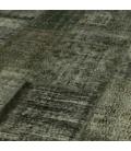 Vintage patchwork rug color dark grey (410x304cm)