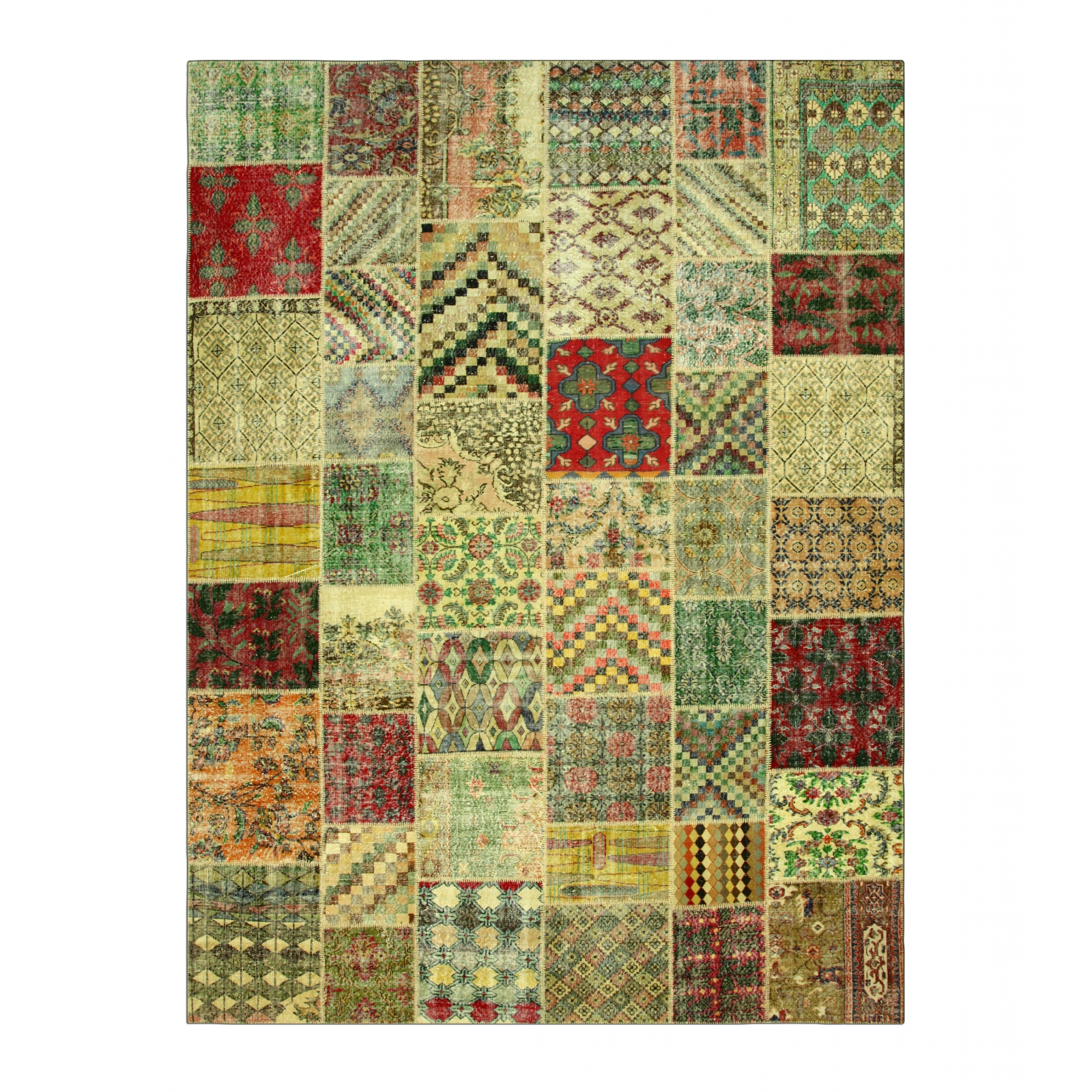 various vintage tapis de patchwork 410x305cm. Black Bedroom Furniture Sets. Home Design Ideas