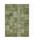 Vintage patchwork rug color natural (410x305cm)
