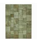 Vintage tapis de patchwork couleur natural (410x305cm)