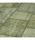 Vintage patchwork rug kleur natural (410x305cm)