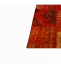 Vintage patchwork flicken teppich farbe orange (427x300cm)