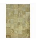 Vintage tapis de patchwork couleur natural (428x300cm)