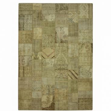 Vintage patchwork rug colore natural (429x303cm)