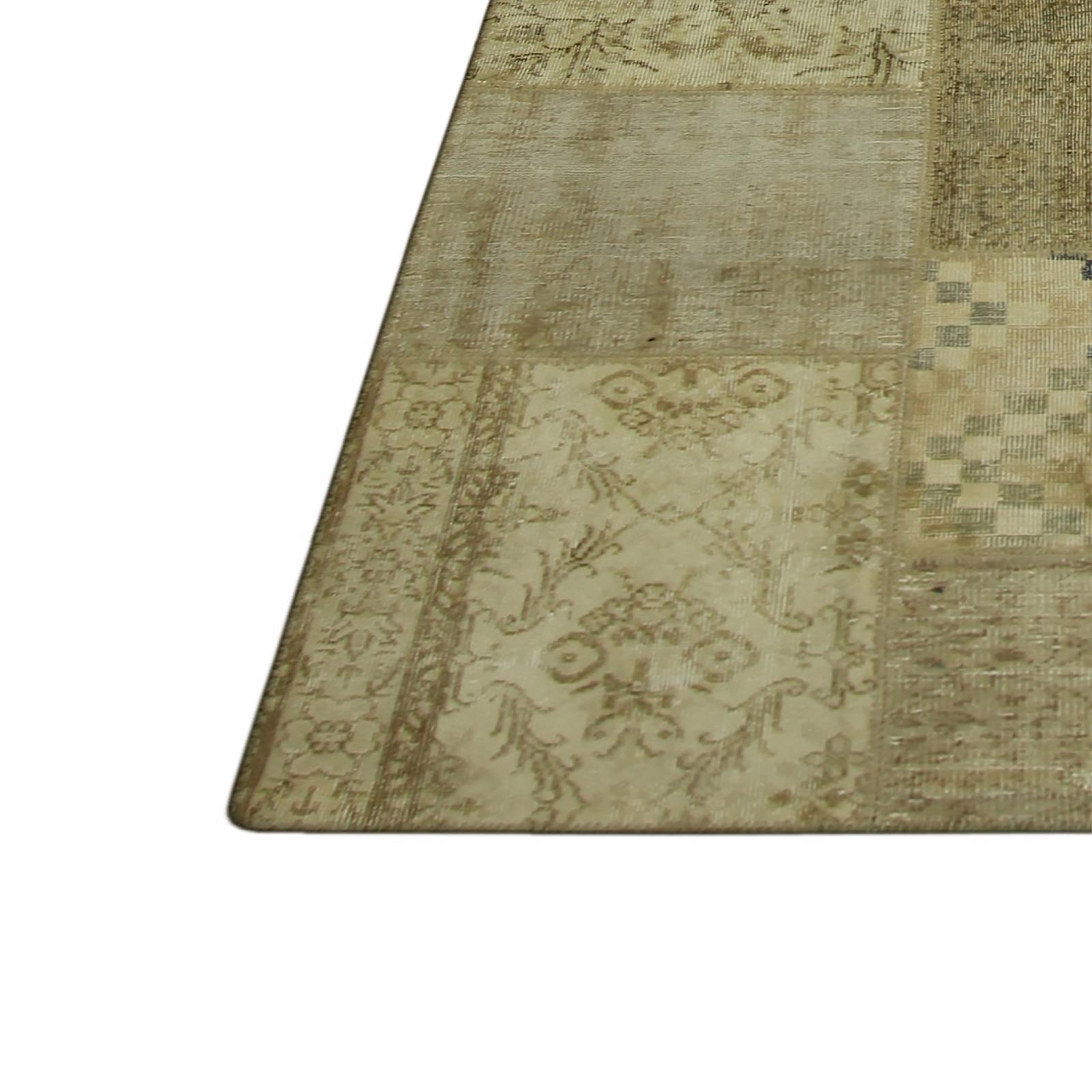 natural vintage tapis de patchwork 429x303cm. Black Bedroom Furniture Sets. Home Design Ideas
