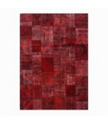Vintage patchwork rug kleur rood (430x300cm)
