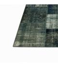 Vintage patchwork rug cor indigo (433x300cm)