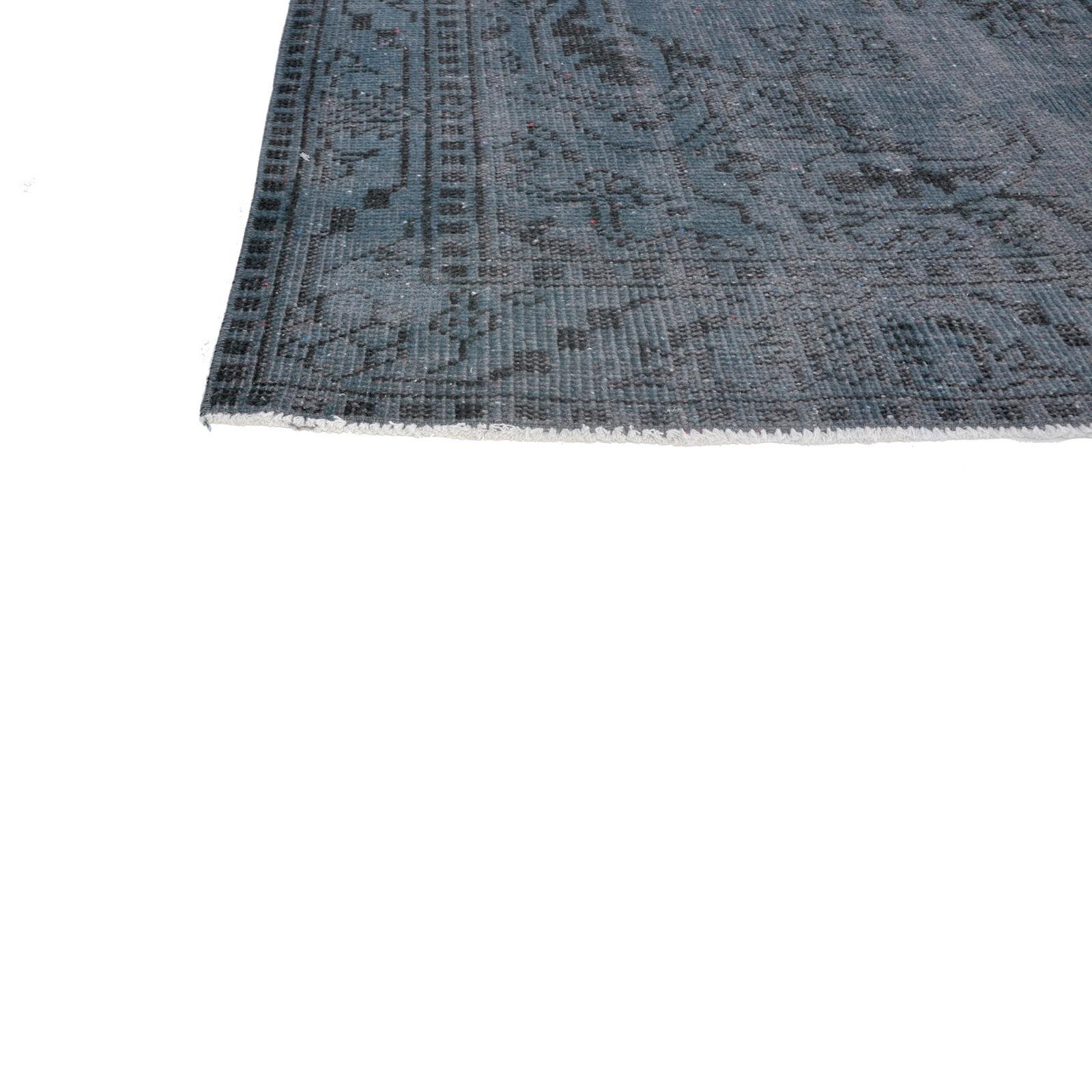 bleu fonc vintage tapis recolor s 287x164cm. Black Bedroom Furniture Sets. Home Design Ideas