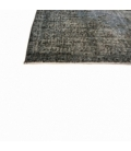 Vintage alfombra recolored color donkergrijsblauw (263x163cm)