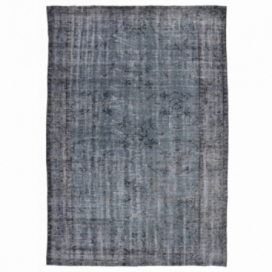 Vintage recoloured rug color grijsblauw (233x152cm)