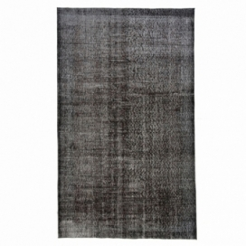 Vintage alfombra recolored color black (164x275cm)
