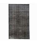 Vintage alfombra recolored color black (164x275cm)