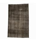 Vintage alfombra recolored color marrón (168x271cm)