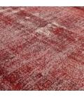Vintage recoloured rug cor vermelho (200x313cm)