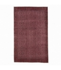 Vintage recoloured rug color red (151x255cm)