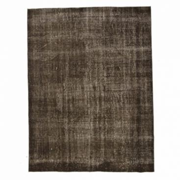 Vintage alfombra recolored color marrón (195x257cm)