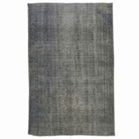 Vintage tapis recolorés couleur indigo (173x268cm)