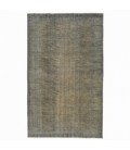 Vintage alfombra recolored color gris (175x289cm)