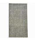 Vintage recoloured rug colore grigio (164x290cm)