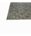 Vintage recoloured rug color gray (165x276cm)