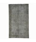 Vintage recoloured rug color gray (166x278cm)