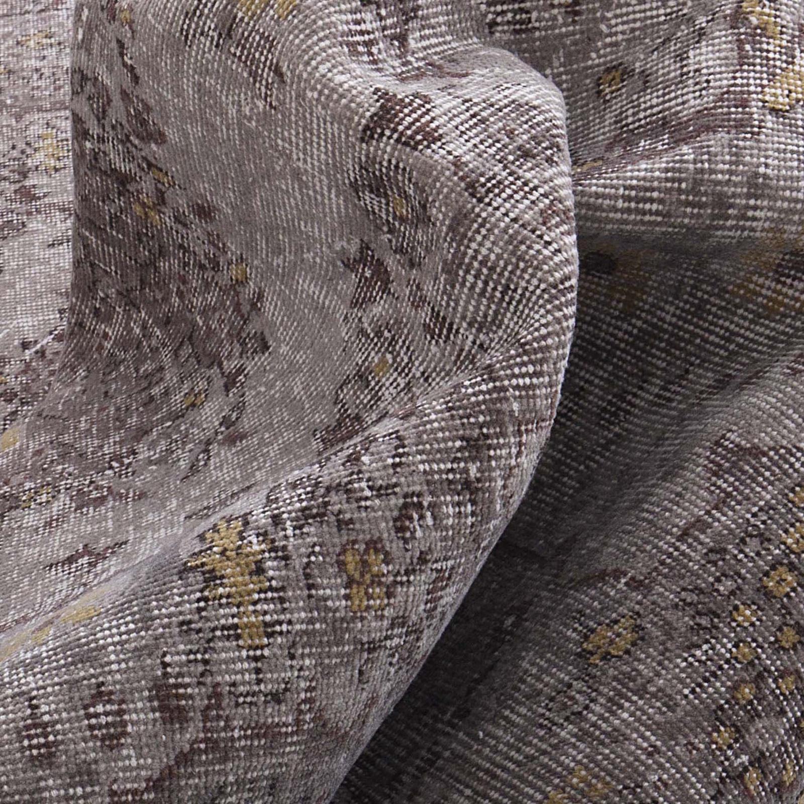 grau vintage umgef rbt teppich 170x257cm. Black Bedroom Furniture Sets. Home Design Ideas