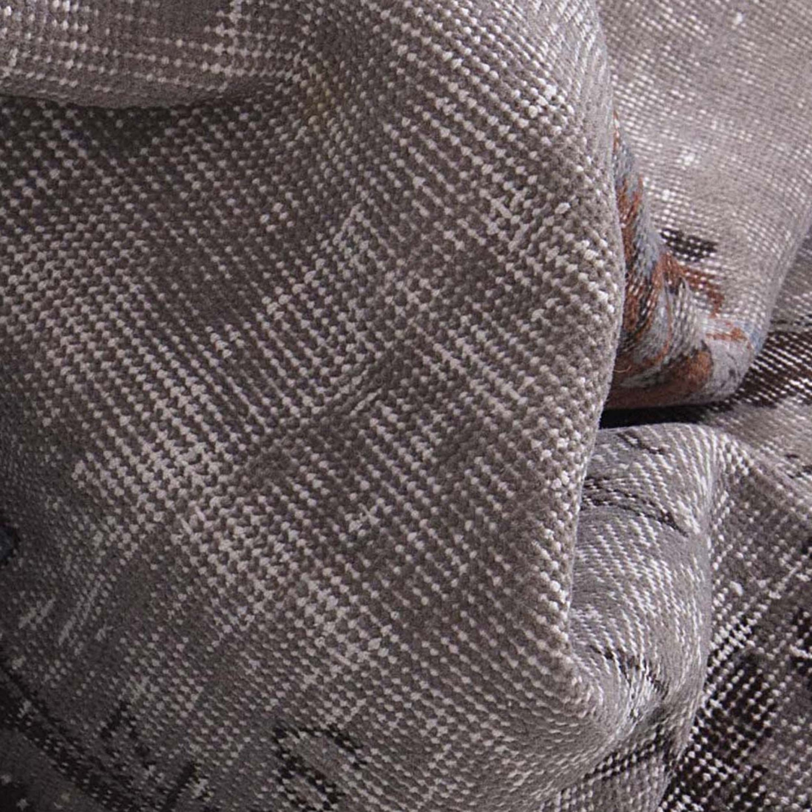 grau vintage umgef rbt teppich 177x304cm. Black Bedroom Furniture Sets. Home Design Ideas