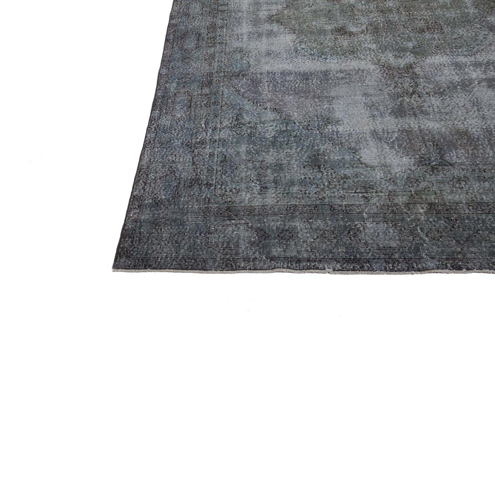 grau vintage umgef rbt teppich 230x234cm. Black Bedroom Furniture Sets. Home Design Ideas