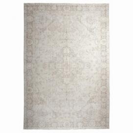 Vintage recoloured rug kleur whitewash (219x330cm)