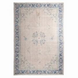 Vintage recoloured rug kleur roze (205x300cm)