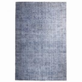 Vintage alfombra recolored color azul (210x328cm)