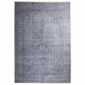 Vintage recoloured rug kleur blauw (222x325cm)